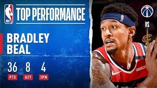 Bradley Beal Pours In 36 PTS For Wizards! by NBA