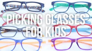 How to Pick Glasses for Kids