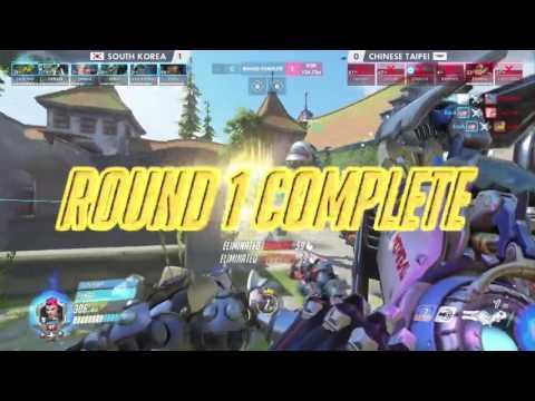 2016 鬥陣特攻世界賽 小組賽 中華台北 vs 韓國 Game2 愛希瓦德