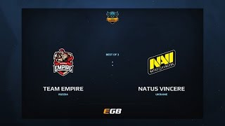 Team Empire vs Natus Vincere, Game 1, Dota Summit 7, EU Qualifier