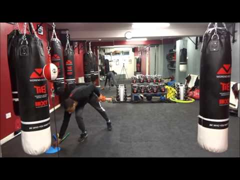 Plyo X Boxing Footwork Drill