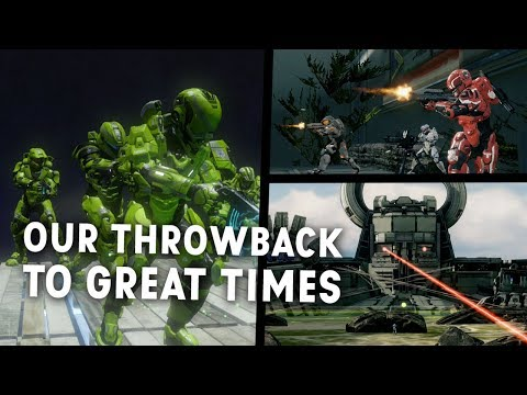 Old friends reunite to play Halo custom games