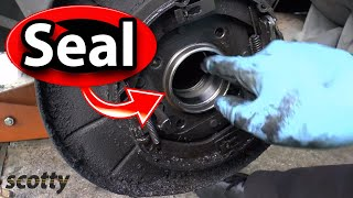8. Replacing A Leaking Axle Seal