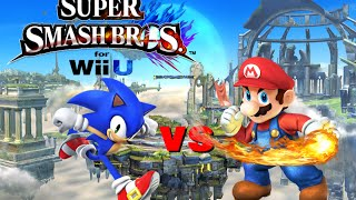 Super Smash Bros Wii U - Sonic Vs Mario