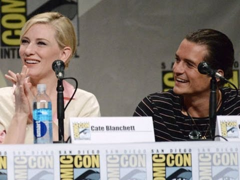 ten - Cate Blanchett says nothing has changed on Peter Jackson's set while Orlando Bloom can't believe so much time has passed since he made his first Tolkein epic. Both were in San Diego, promoting...