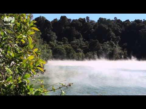 Rainbow Mountain Scenic Reserve, Rotorua (видео)