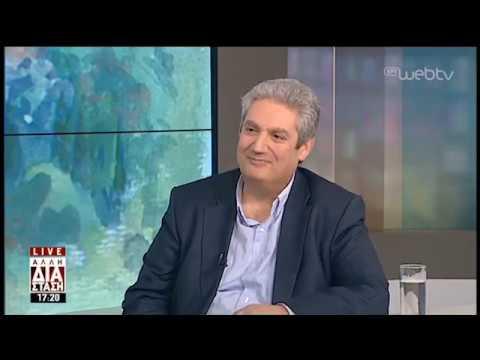 Ο Μάκης Παπαδόπουλος στην 'Αλλη Διάσταση» | 02/04/19 | ΕΡΤ