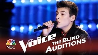 Justin Johnes- 'Let Her Go' The Voice 2014 Blind Audition - ShareNWatch.Com