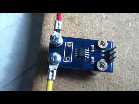 Using the ACS712 Hall Effect Current Sensor Module (part 1)