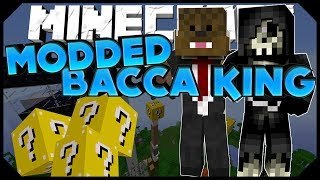 Minecraft: LUCKY BLOCK BACCA KING w/JeromeASF, Ashley,&Taz (Modded Minigame)
