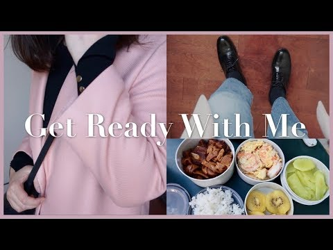 GRWM for lunch date🍱| Makeup & OOTD | 和胖哥的工作午餐约会💑 видео