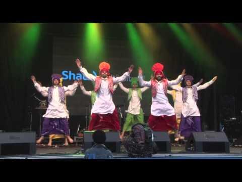 Shan-e-Punjab Arts Club -  VIBC 2014 Downtown Bhangra Day 1