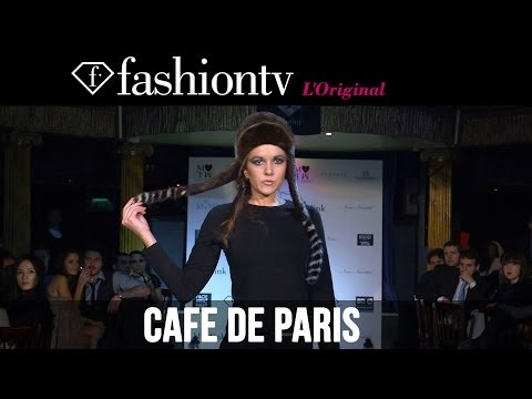 Paris - http://www.FashionTV.com/videos LONDON - FashionTV hosts the ultimate London Fashion Week Fall/Winter 2014-15 afterparty celebrations at Cafe de Paris with F...