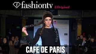 Cafe De Paris with Lara Accison during London Fashion Week Fall/Winter 2014-15 | FashionTV