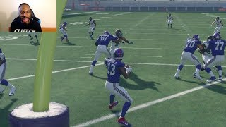 Who Can Score a 99yd QB Scramble TD First? Antonio Brown, Odell Beckham Jr or Julio Jones? Madden