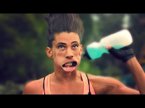 CONTORTED FACES IN EXTREME SLOW MOTION! (1000 FPS) // ScottDW