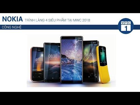 Nokia trình làng 4 siêu phẩm tại MWC 2018 | VTC1 - Thời lượng: 2 phút, 13 giây.