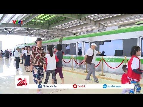 Tàu Cát Linh - Hà Đông hoạt động miễn phí nửa tháng đầu @ vcloz.com