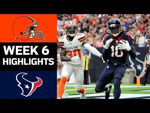 Video: Browns vs. Texans | NFL Week 6 Game Highlights