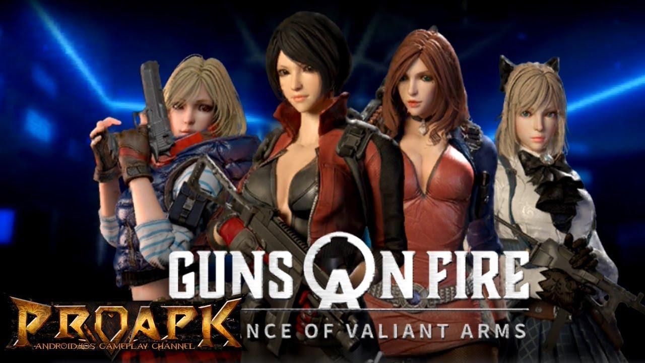 A.V.A : Guns on Fire - 아바: 건즈 온 파이어