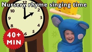 Mother Goose Club  Hickory Dickory Dock  Nursery Rhymes Mother Goose Club  Kids Songs ► Click to Subscribe to Mother Goose Club - http://bit.ly/2uhKbs9 Wa...