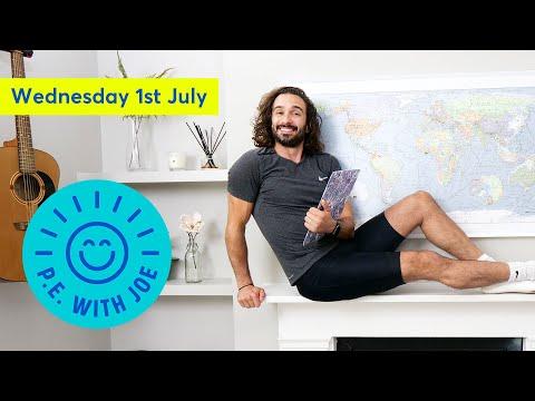 PE With Joe   Wednesday 1st July