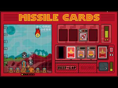 Missile Cards gameplay