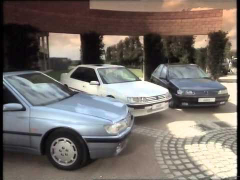 Peugeot 605 - UK Promotional Video (1990)