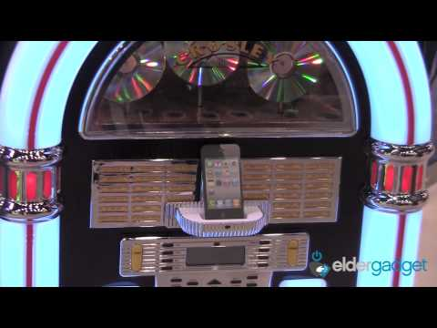 CES 2012 Video: Crosley iPod, iPhone and iPad Jukebox and Record Player