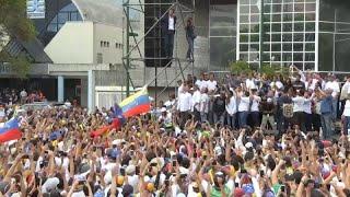 'Triunfal' regreso de Juan Guaidó a Venezuela