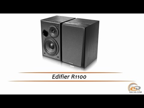 Edifier R1100 - видеообзор акустической системы (видео)