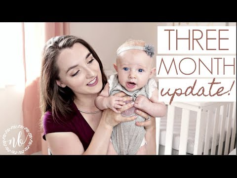 3 MONTH UPDATE | TEETHING, SLEEP REGRESSION, PPD? | Baby + Mommy Update | Natalie Bennett