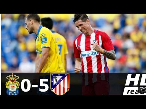 LAS PALMAS 0-5 ATLÉTICO MADRID - ALL GOALS - LA LIGA SANTANDER 2017