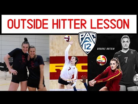 Outside Hitting With USC All-American Brooke Botkin | Victoria Garrick Tutorial
