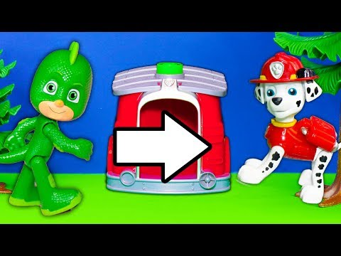 PJ Masks And Paw Patrol Swap Transforming Towers With Puppy Dog Pals And The Grinch