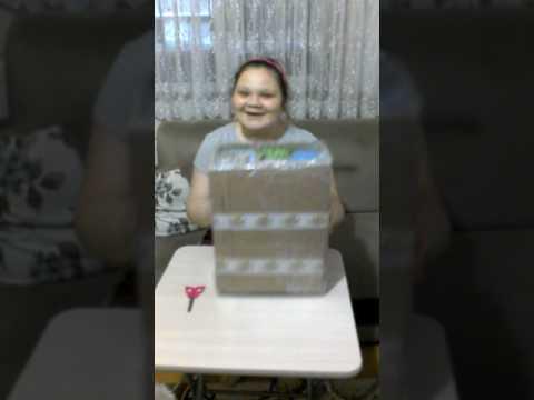 Baby alive emekleyen bebeğim kutu açılımı (doğum günü hediyelerim 1 )