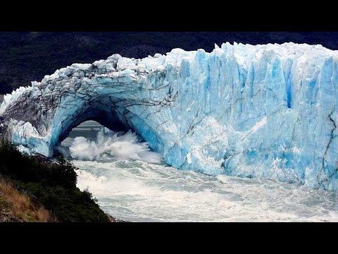 Περίτο Μορένο: Κατέρρευσε γέφυρα από πάγο