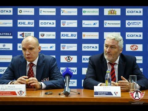 """Пресс-конференция - """"Автомобилист"""" 4:3 """"Слован"""" (1.12.15)"""