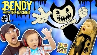 Video EVIL MICKEY MOUSE!??! BENDY & THE INK MACHINE: Chapter 1 😱 FGTEEV 2 Scary Kids Gameplay Jump Scares MP3, 3GP, MP4, WEBM, AVI, FLV November 2018