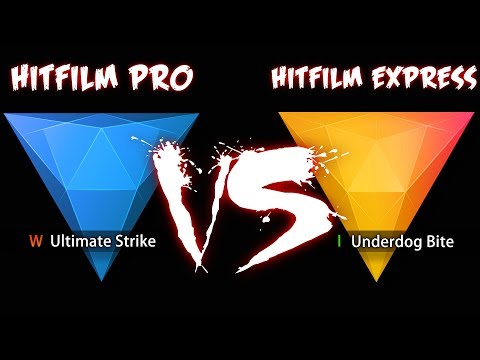 HITFILM EXPRESS vs HITFILM PRO