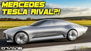 Mercedes-Benz Tesla Model S Rival, Chevrolet SS More Power, New Nissan Pathfinder - Fast Lane Daily by Fast Lane Daily