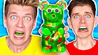 Video Mixing Every Sour Candy! *WORLDS SOUREST GIANT GUMMY* Learn How To Make DIY Food Prank Challenge MP3, 3GP, MP4, WEBM, AVI, FLV Oktober 2018