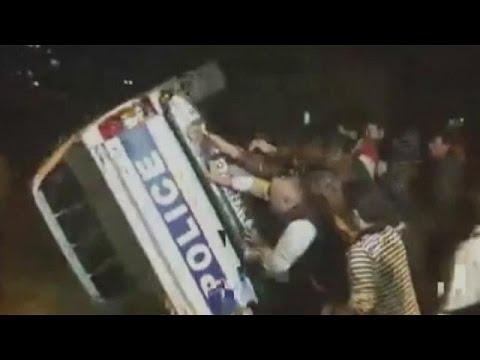 Γεωργία: Βίαια επεισόδια με αφορμή πρόστιμα για στάθμευση