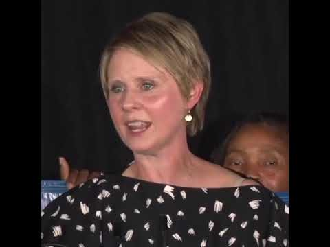 Cynthia Nixon's Concession Speech Passes the Torch To Young People