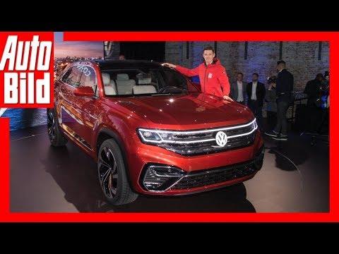 VW Atlas Cross Sport (NYIAS 2018) Details/Erklärung