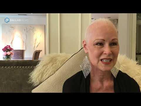 Former high fashion model Jan Strimple speaks on her cancer experience