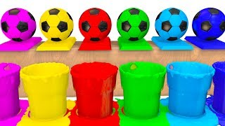 Video Colors for Kids to Learn w Soccer Balls Surprise Eggs - Superheroes Learning Video for Babies MP3, 3GP, MP4, WEBM, AVI, FLV September 2017