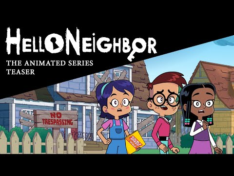 Hello Neighbor: Animated Series Teaser [What Happens after Act 1]