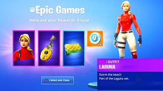 The New STARTER PACK REWARDS in Fortnite..