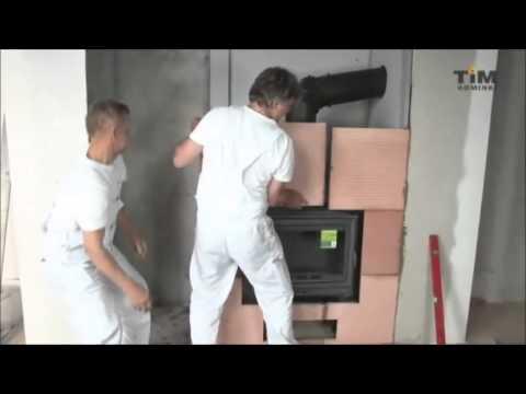 Jak wykonać obudowę kominka z płyt akumulacyjnych?